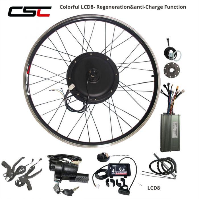 250W 36V Electric Bicycle conversion Kit Front Rear Wheel Hub Engine Motor kit