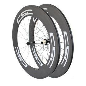 Ceramic Bearing 88mm Tubular Clincher Carbon Bicycle Road Wheels Powerway R13 hub
