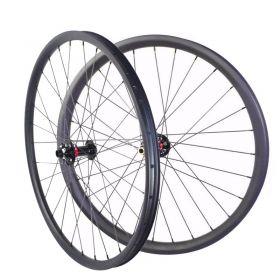 29er Tubeless AM/XC Carbon MTB Bike  Wheels 40mm width Asymmetric 15x100 TA or QR or 15X110 Boost Option