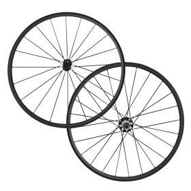 CSC 24mm Tubular Carbon Bicycle Road Wheelset Powerway R51 Hub 2:1 Pattern