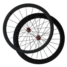 1pair 50mm front wheel 60mm rear bicycle wheel