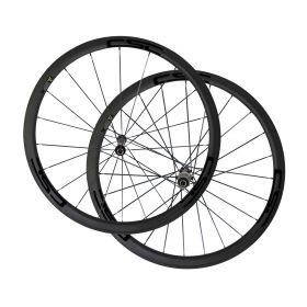 Straight Pull Novatec AS511SB FS522SB Hub Sapim CX-Ray Spokes 38mm Tubular Clincher Carbon Bike Wheels