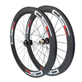 6 Bolt Disc Brake 60mm Clincher Tubular Tubeless Carbon Cyclocross Bicycle wheelset 23mm ,25mm Width