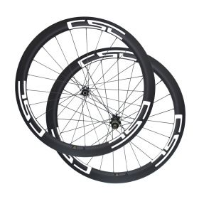 Ultra Light Straight Pull Disc Brake 50mm Clincher Tubular Tubeless Carbon Cyclocross Bicycle wheels