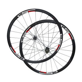 CSC Straight Pull Disc Brake 38mm Carbon Cyclocross bike wheels Novatec D411SB D412SB hub Sapim cx ray spokes