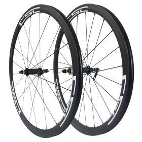 23mm/25mm Width U Shape Straight Pull R36 Hub Sapim CX-Ray Spokes 38mm Tubular Clincher Carbon Road Wheels
