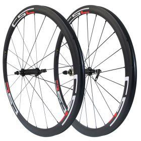 23mm/25mm Width U Shape Ceramic bearing R36 Hub 38mm Tubular Clincher Tubeless Carbon Road Wheelset