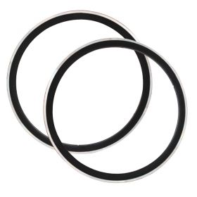 700cx23 40mm Clincher Road Bicycle Rim V Brake Bike Hoop  2pcs