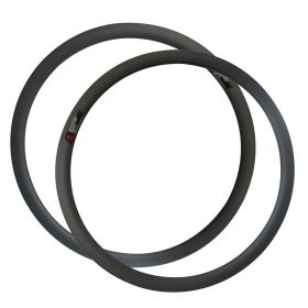 No braking surface Disc Brake Cyclocross Bike rim 25mm Width 40mm Clincher Tubuless Cyclocross Bicycle Hoop