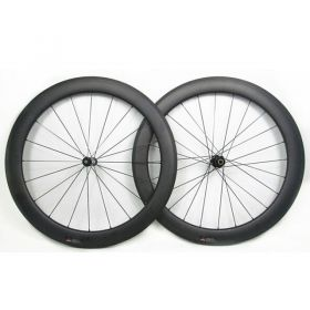 700C 50mm Tubular Clincher Carbon Bicycle Racing Road Wheelset DT 350s Hub Sapim CX Ray 23mm/25mm U Shape