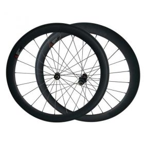 700C 23mm/25mm Width 50mm Tubular Clincher Carbon Road Bicycle Wheels DT240 hub Sapim cx ray