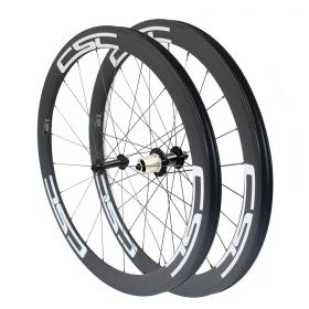 6 Pawls Ultra Light 50mm Tubular Clincher Carbon Bike Wheels 23mm 25mm Width