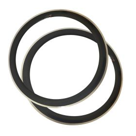 23mm Width 700c 60mm Clincher Carbon Road Bicycle Rim Alloy Brake Track