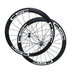 U Shape Novatec AS511SB FS522SB Hub 50mm Tubular Clincher Tubeless Carbon Bike Wheels 23mm/25mm Rim Width