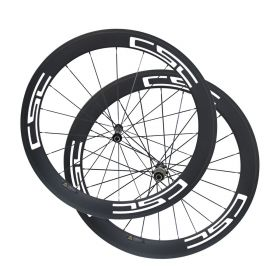 U Shape Novatec AS511SB FS522SB Hub 60mm Tubular Clincher Carbon Bike Wheels 23mm/25mm Rim Width