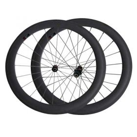 60mm Tubular Clincher Carbon fiber Road Bicycle Wheels DT240 hub Sapim cx ray spokes