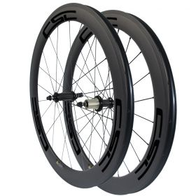 R36 Ceramic Bearing Hub Sapim CX-Ray Spokes 60mm Tubular Clincher Tubeless Carbon Fiber Wheels