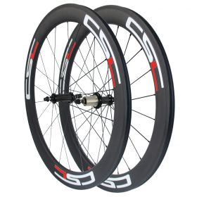 Powerway R36 Hub Sapim CX-Ray Spokes 88mm Tubular Clincher Tubeless Carbon road Wheelset 23mm/25mm Rim Width