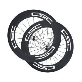 Novatec AS511SB FS522SB Hub Sapim cx Ray 88mm Tubular Clincher Carbon Bike Wheels