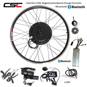 e BIKE 48V 1000W 1500W Electric Bicycle Conversion Kit 20 24 26 28 29 inch 700C Front Rear Bluetooth Motor Wheel