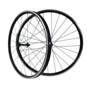 Kinlin XR26T 23.8mm Width 26mm Tubeless Alloy Road Bike Wheels Powerway R13 hub 2:1 Pattern in Rear Wheel