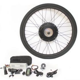 "20"" 26"" 29"" 700c 28"" Electric bike kit Ebike Conversion bicycle Rear moter wheel"