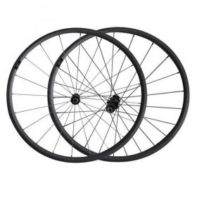 1110g only 700C 24mm Tubular Carbon Road Bike Wheels DT240 hub Sapim spokes