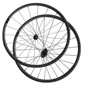 23mm Rim Width 24mm Clincher Carbon Road Bike Wheels DT240 hub Sapim spokes
