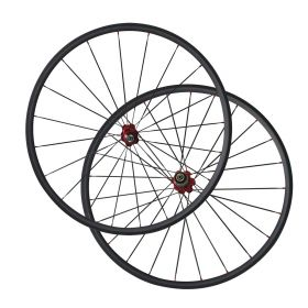 23mm Width 24mm Clincher Carbon Fiber road bike wheels Chinese carbon Bicycle wheelset