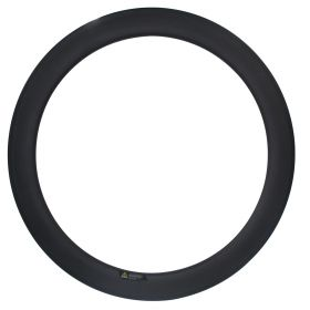 700c CSC 60mm Tubular Clincher Carbon Road bike Rim 23mm,25mm Width U Shape