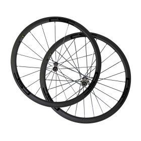 Straight Pull Novatec AS511SB FS522SB Hub Sapim CX-Ray Spokes 38mm Tubular Clincher Carbon Bike Wheels