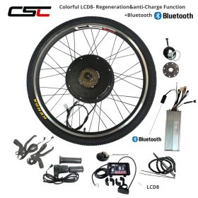 EBIKE 48V 1000W 1500W Electric Bike Conversion Kit 20 24 26 27.5 28 29inch 700C Rear Wheel Motor Regeneration Anti-charge