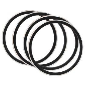 4pcs CSC 40mm Clincher Road Bicycle Rim V Brake Bike Hoop 700cx23C