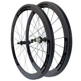 Straight Pull Ceramic Bearing R36 Hub 50mm Tubular Clincher Tubeless Carbon Bike Wheelset