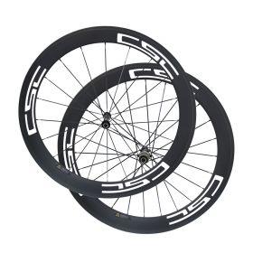 U Shape Novatec AS511SB FS522SB Hub 60mm Tubular Clincher Carbon Bike Wheels 23mm/25mm Rim Width