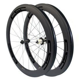 Super Light R13 Hub 6 Pawls 60mm Tubular Clincher Carbon Bicycle Wheels Powerway R13 hub Sapim Spokes
