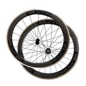 Aluminium Brake Surface 23mm Width 60mm Clincher Carbon Bike Road Wheelset R13 Hub
