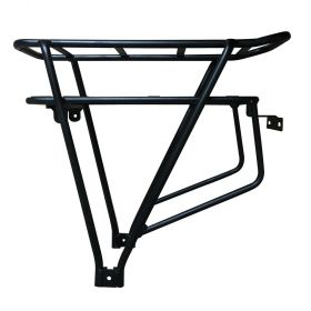 electric bicycle Luggage Rack Black Double Layer e Bike Bicycle Rear Carrier