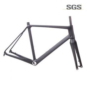 Carbon Di2 Bike Cyclocross Frame 12x100mm, 15x100mm /12x142mm thru axle Disc brake Bicycle Road Frameset  51.5cm 54cm 56.5cm