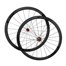 SAT 23mm,25mm width U Shape 38mm Clincher Road Bike Chinese Carbon Wheels R36 Straight Pull Hub Sapim CX-Ray Spokes