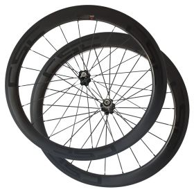 SAT NO Outer Holes 50mm Carbon Racing Race Wheels  Clincher Tubeless Ready Carbon Road Wheels Novatec Hub
