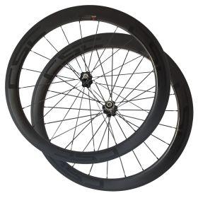 SAT NO Outer Holes 50mm Carbon Racing Race Wheels  Clincher Tubeless Ready Carbon Road Wheels Novatec Hub