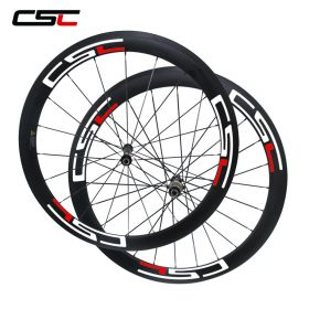 No outer hole SAT Ultra Light 50mm 700C Cycling Carbon Wheels 23mm 25mm Width Straight Pull AS511SB Hub