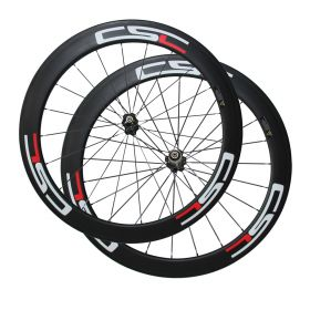 SAT No Outer Hole Chinese Cycling Carbon Wheels  Clincher Tubeless Ready Wheelset  Novatec Hub